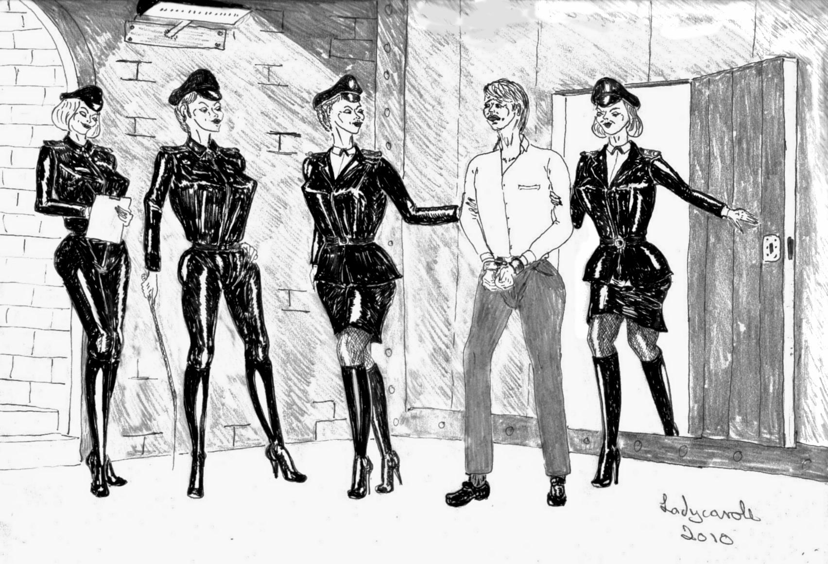 Lady Carole S Femdom Art Artists